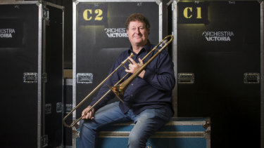 Scott Evans: He is Orchestra Victoria's longest serving musician.