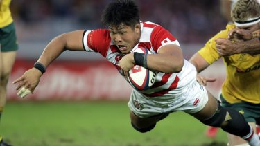 Shut out: Japan could be sidelined for the start of the proposed Nations Championship.