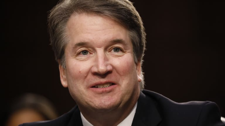 Brett Kavanaugh, Donald Trump's nominee for the US Supreme Court, faced senators on Tuesday.