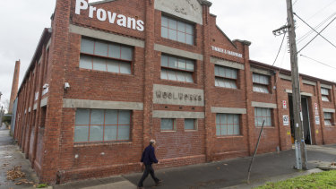 Provans moved into the Old Wool Store after getting $12.2 million compensation.