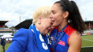 Susan Alberti is a passionate supporter of women's football