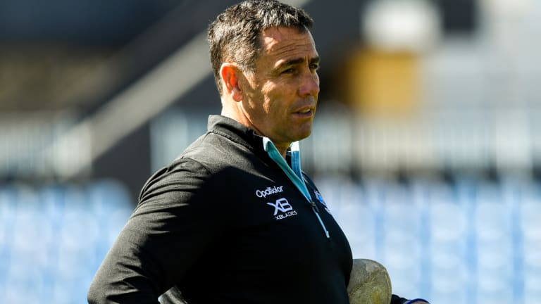 Not long on the law: Sharks seemed to do whatever they wanted under Stan Flanagan.