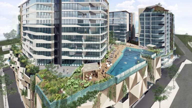 How an old car park at Mooloolaba's beach will be redeveloped.