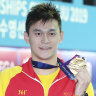 FINA 'open' to stripping Sun Yang of world championship medals