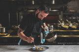 Garum head chef Stefano Pingue at work.
