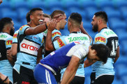 The 20-point win over Canterbury moved Cronulla into the top eight.