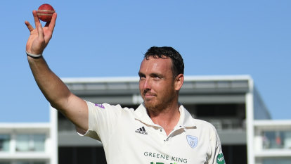 'It was incredible': Hampshire quick's 17-wicket haul best since 1956