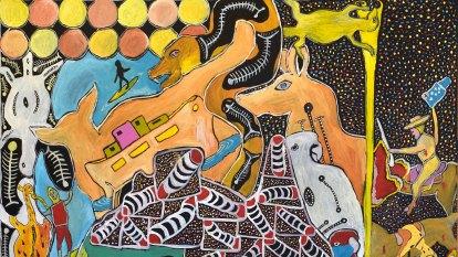 'No boundaries': John Prince Siddon brings an original dynamic to Indigenous art