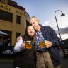 Postcode checks and two-hour sittings: The pub challenges of screening the grand final