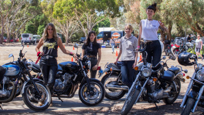 Women motorcyclists rev up for Sheilas Shakedown