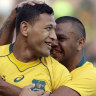 Beale worried about Folau ahead of code-of-conduct hearing