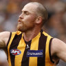 Hawks bring back Roughead for Swans clash