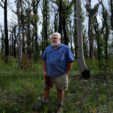 Former Bilpin RFS captain Bill Shields says the only assets that have burnt Bilpin in his lifetime were escaped backburns from Mt Wilson.