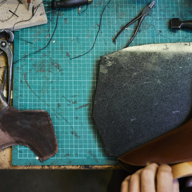 """It's about doing something that's adding value to the world,"" says shoemaker Jess Wootten."