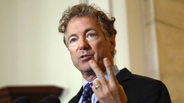 Infected: Republican Senator Rand Paul.