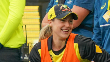 Ellyse Perry is in doubt for Australia's T20 against New Zealand, more than six months after injuring her hamstring.