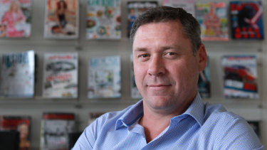 "Bauer chief Brendon Hill wants the traditionally magazine-focused business to be seen as a broader ""media"" business."
