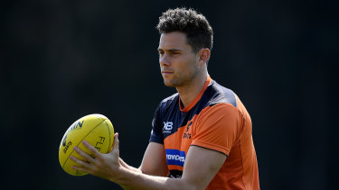 In the mix: Josh Kelly looks set for his first game of the AFL season on Saturday.