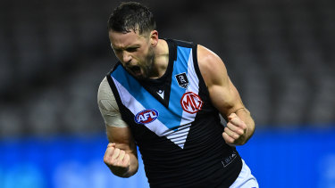 Travis Boak has had another exceptional season for the Power.