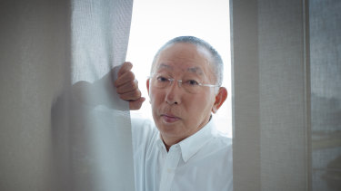 Tadashi Yanai, chairman and chief executive officer of Fast Retailing Co.