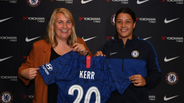 Sam Kerr's move to Chelsea could pave the way for others to forge a similar path.