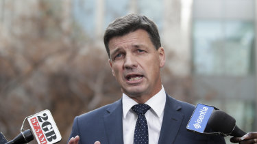 Cabinet minister Angus Taylor says the government will bring its union-busting Ensuring Integrity Bill on for debate.