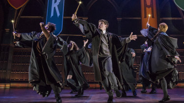 A scene from the Broadway production of The Cursed Child.