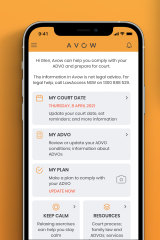 The NSW government has launched an app aiming to help domestic violence perpetrators understand their AVDOs and support services available to them.