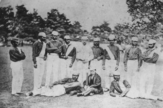 Australia's first internationals: the Indigenous cricketers who toured England in 1868 were from western Victoria.