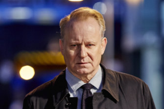 Stellan Skarsgard as the eponymous Scotland Yard detective John River.