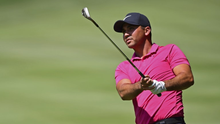 In contention: Jason Day is eyeing a history-making run in the FedEx playoffs.