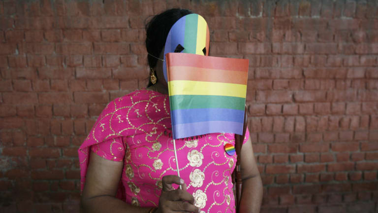 Activists welcomed the ruling to scrap a colonial-era ban on gay sex.