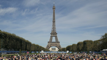 The Eiffel Tower operator said the landmark structure will be closed on Saturday.