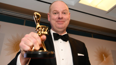 The ABC's Tom Gleeson takes out the Logies top honours for 2019.