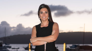 Real Housewives of Sydney star Nicole O'Neil Gazal was charged with making the day reception perfect.