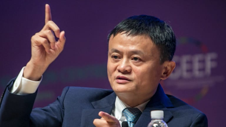 """Alibaba founder Jack Ma has predicted that JD.com will end in """"tragedy"""" die to its business structure."""