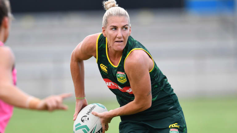 """I am not the loudest talker but I will definitely lead the way on the field"": Ali Brigginshaw."
