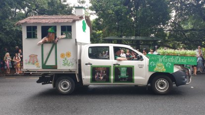 St Patrick's Day parade patron honoured at Brisbane festivities