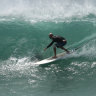 As ex-cyclone Oma lingers, so does the dangerous surf