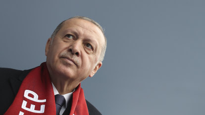 What kind of friend is Turkey's Erdogan if he fuels tensions to win a local election?