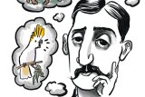 Marcel Proust, pondering past password prompts.