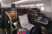 Revamped Qantas A380 cabin interiors October 2019