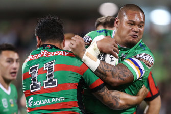 Joey Leilua could be joining his younger brother Luciano at Wests Tigers this year.