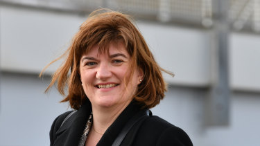 Secretary of the Department for Digital, Culture, Media and Sport, Nicky Morgan.