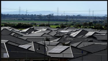 Roof top solar panels