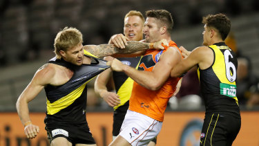 The Tigers and Giants are set for another Marvel battle, after their epic round nine clash there.