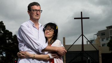 Stuart Roberts and his fiance Fie Fie Tjioe are getting married at the Northern Life Church in Hornsby this Saturday without the 160 guests they had invited.