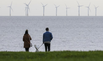 You can't coherently argue that a recent wind lull has brought Britain to its knees.