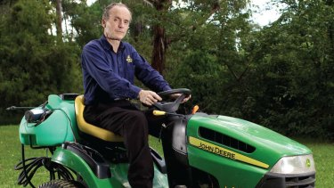 Fertile ground: Jim Penman, founder of Jim's Mowing.