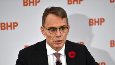 There'll be pressure on BHP chief executive Andrew Mackenzie and his board to distribute more of the group's massive franking credit reserves before Labor can devalue them.